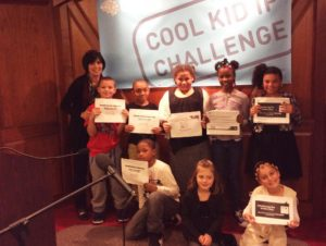 Ms. Patti and School 14 students at Cool Kids IP Challenge