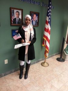 Razan at her Citizenship Ceremony