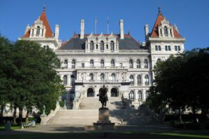 Photo of the New York State Capitol building