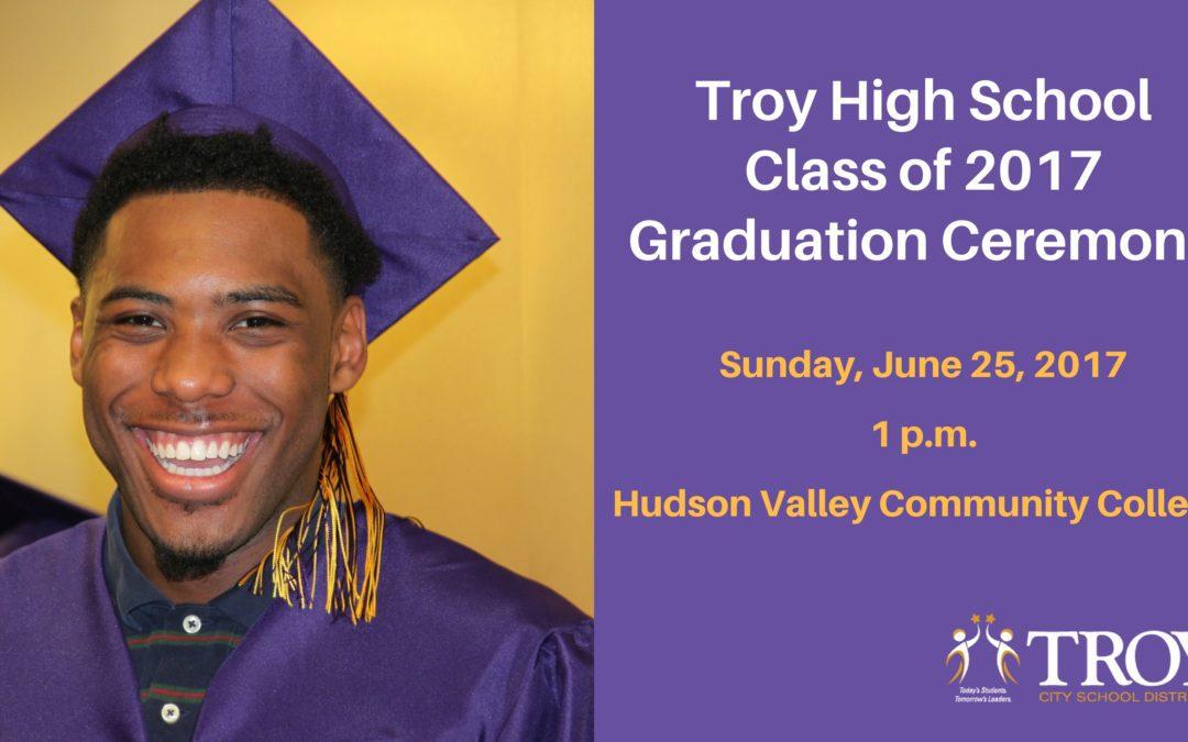 Class of 2017 Graduation Ceremony – June 25