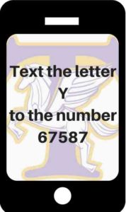 Text the letter Y to the number 67587