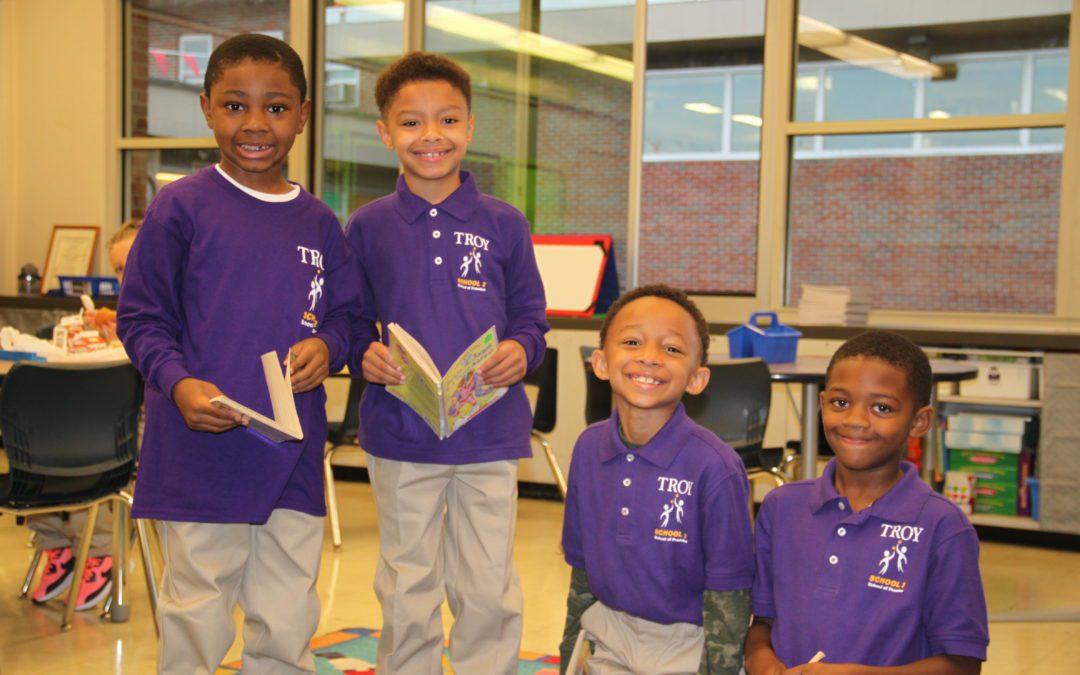 School 2 receives DTSDE Award