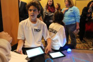 Students at Tech Awareness Day
