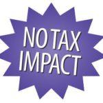 No Tax Impact