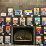 student artwork on display