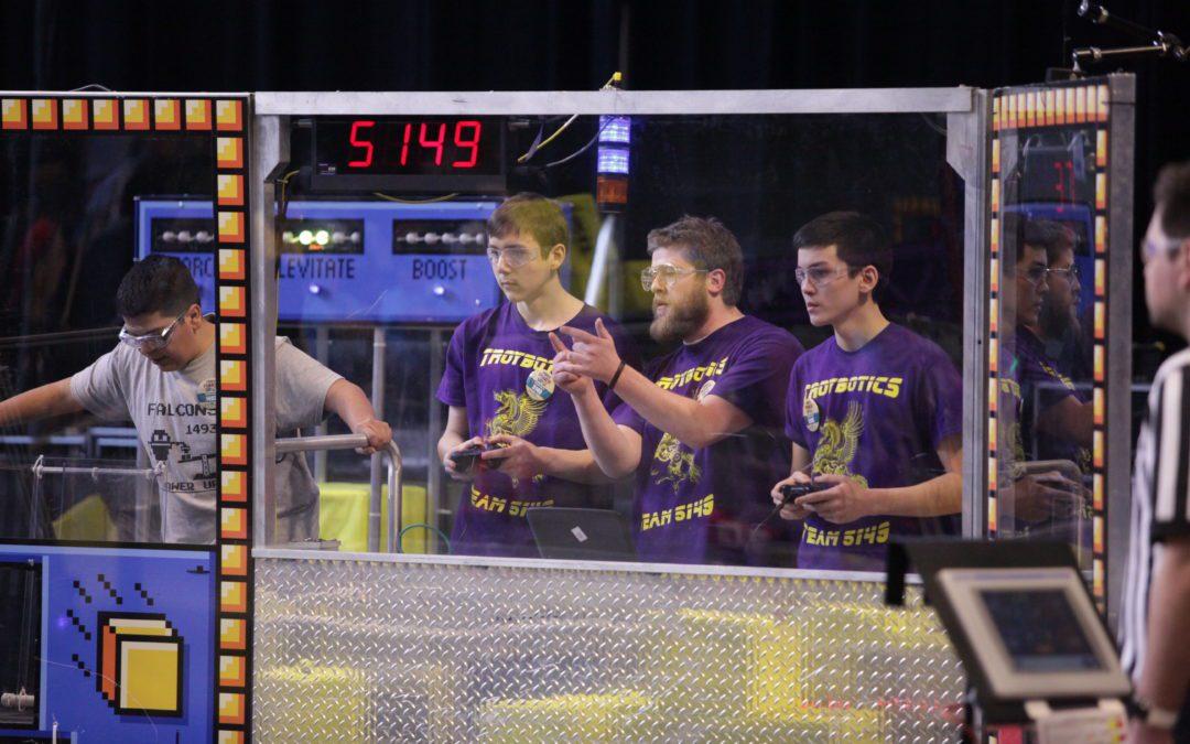 """Troybotics"" team competes at RPI"