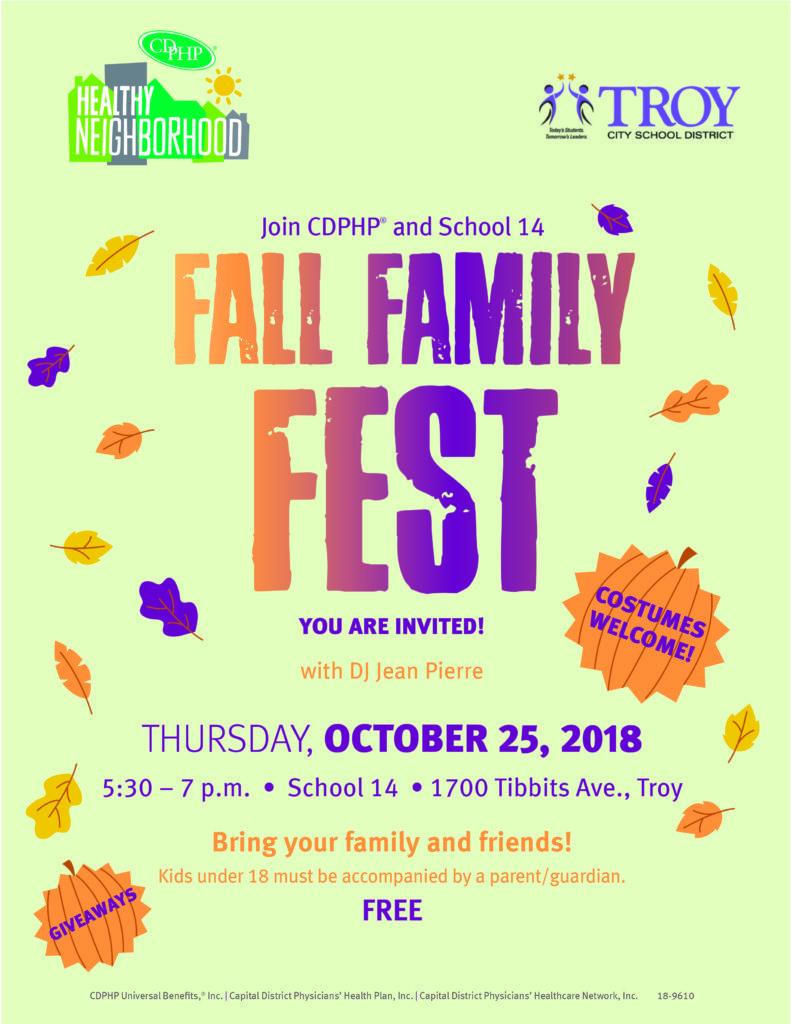 Fall Family Fest flyer