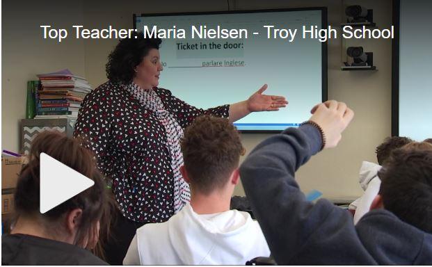 Troy High teacher named WNYT Top Teacher