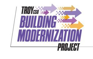 project logo with arrows