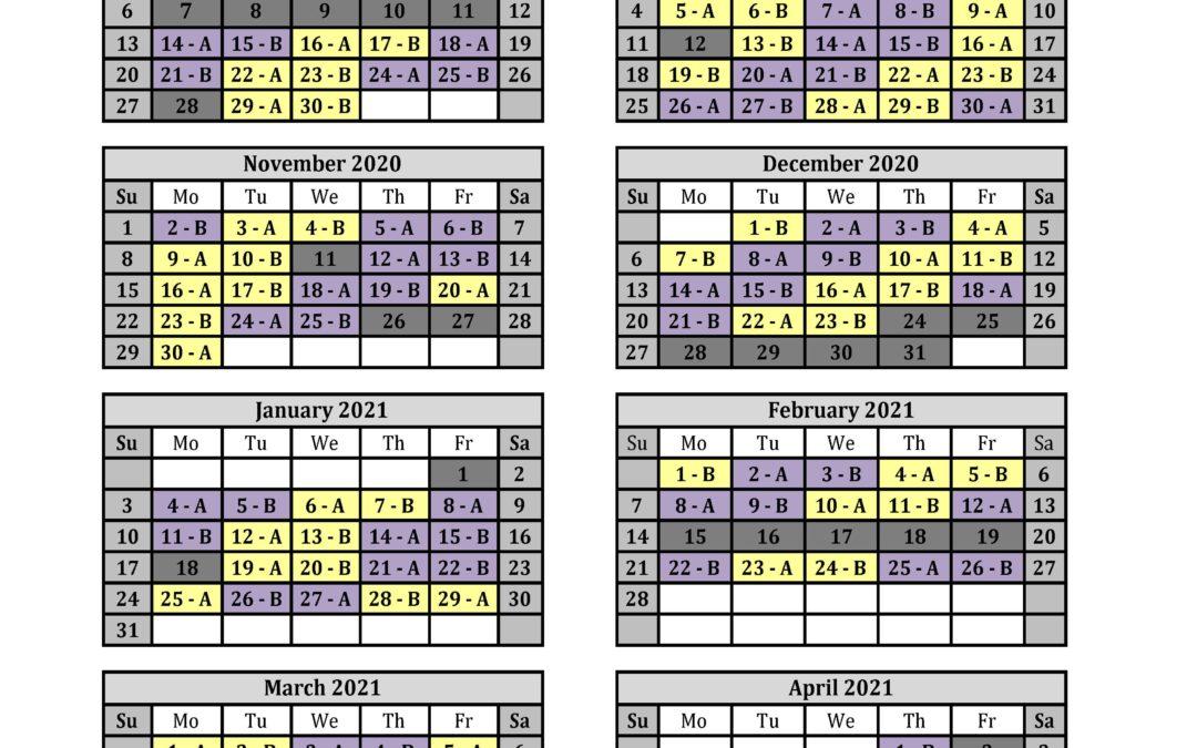 Troy City Schools Calendar 2021-2022 Background