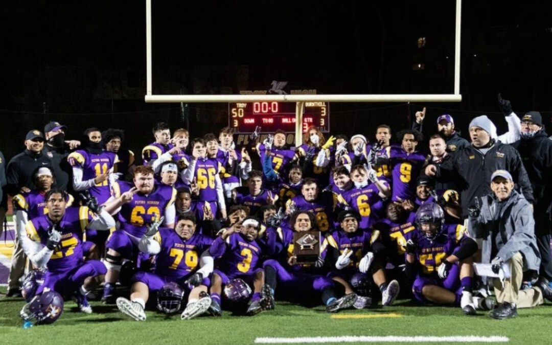 Troy High Football crowned 2021 Section 2 Class A Champion