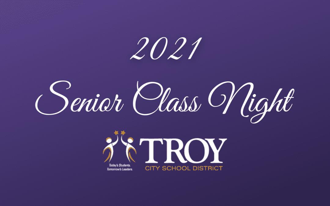 2021 Senior Class Night and Junior Awards
