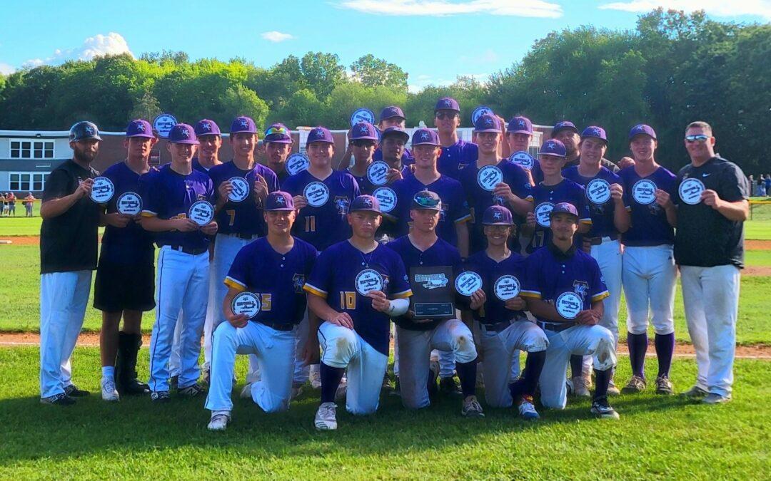 Troy High Baseball wins Section 2 Class A Championship
