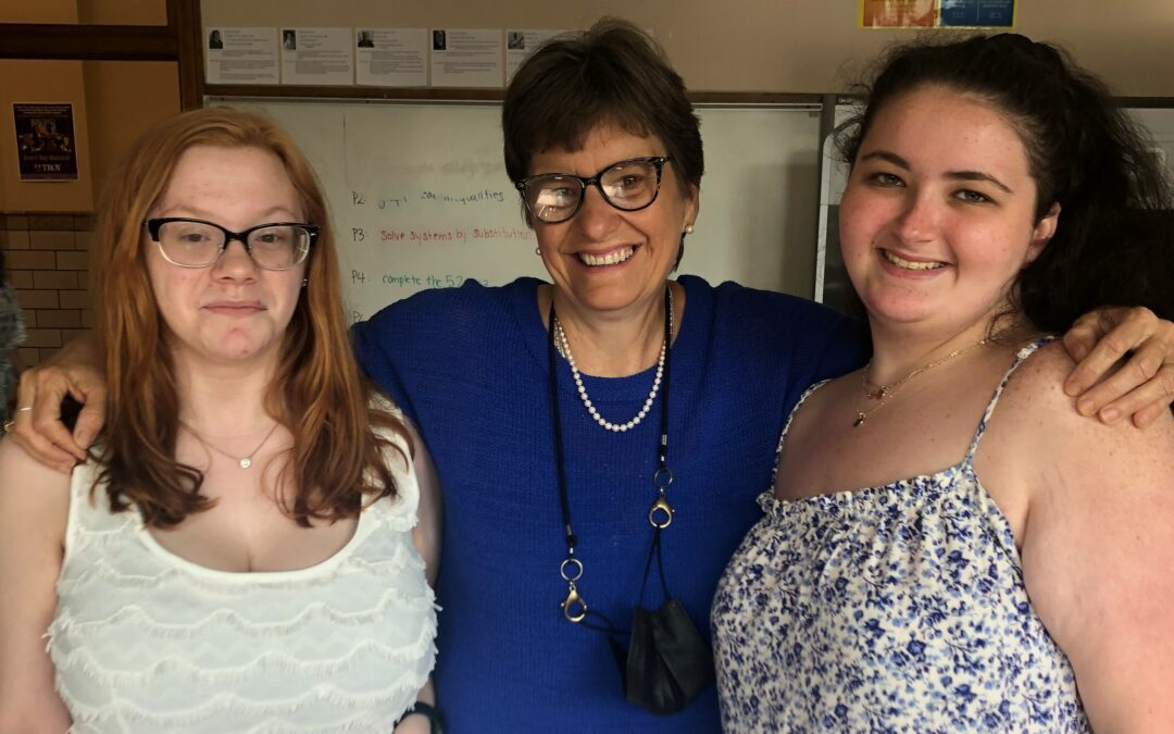 Extra Mile: Mrs. Connolly and Jill Casey
