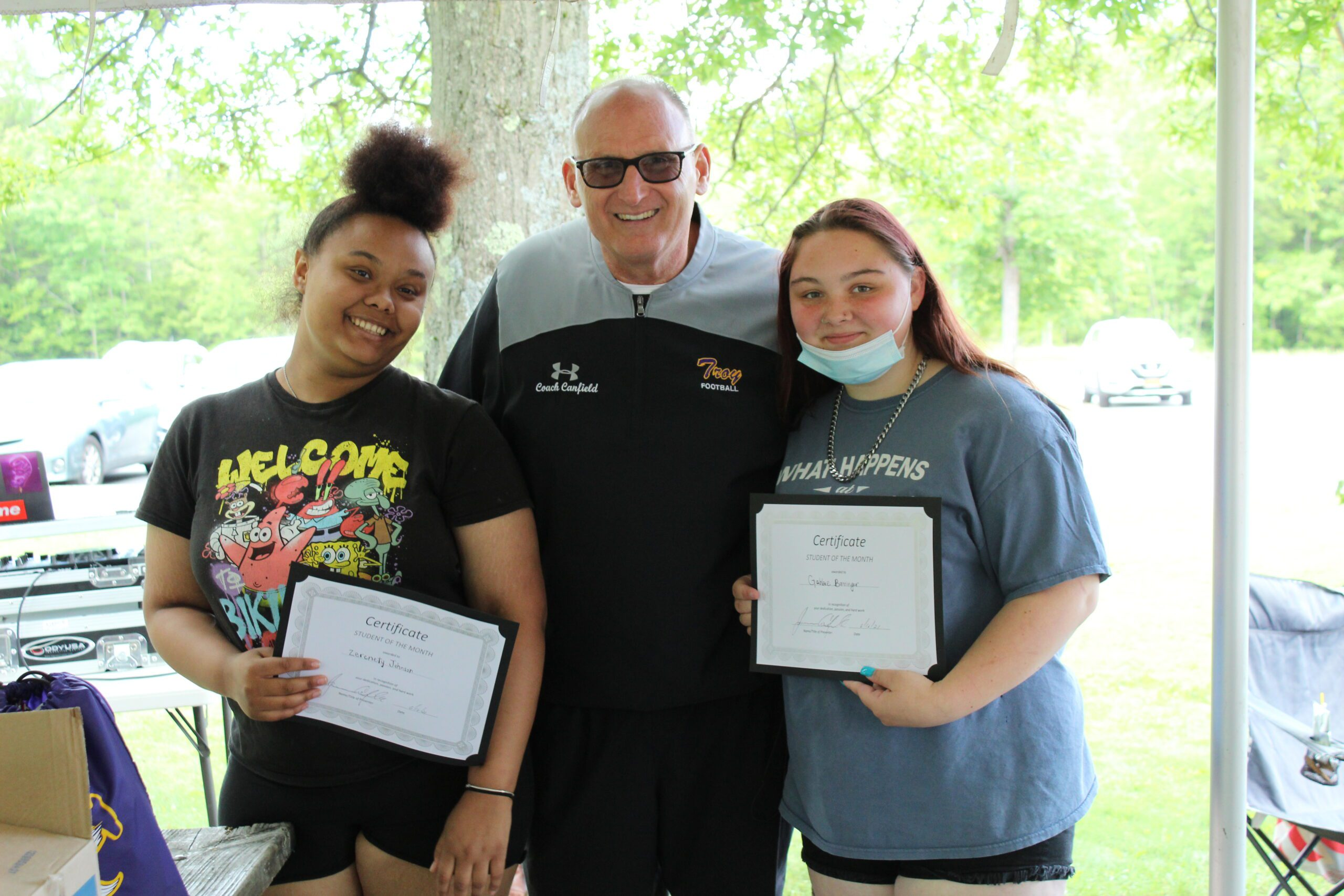 Students of the Month: Marcus and Tajaliek, Zerenity and Gabby