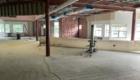 School 14 classroom wall construction in process.